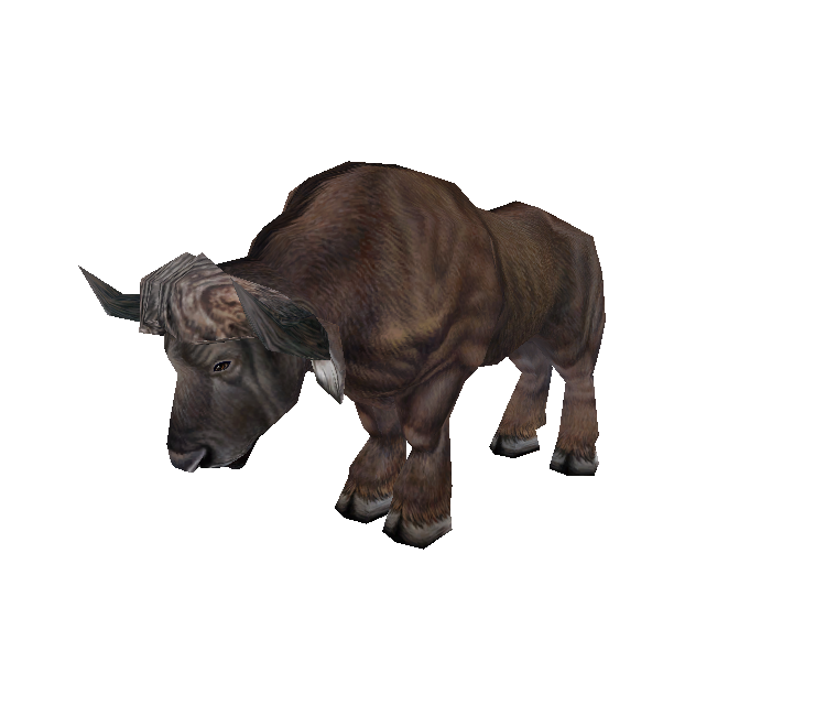 Buffalo transparent zoo tycoon. Pc computer african male