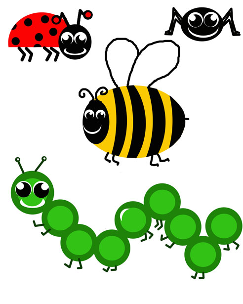 Clip art cartoon . Bugs clipart png black and white download