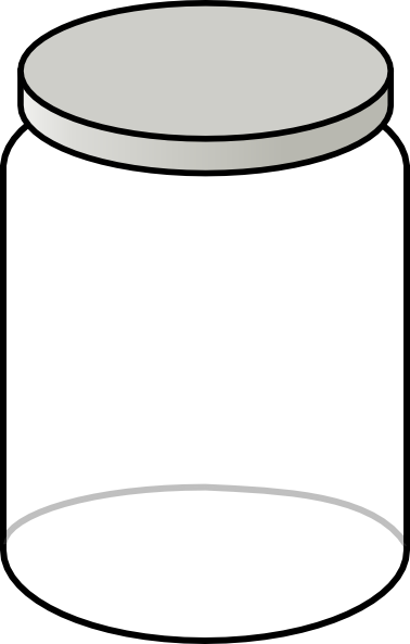 jar transparent clear