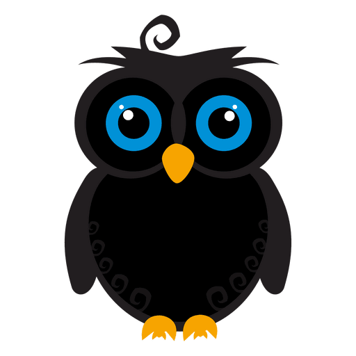 Buho vector. Isolated owl illustration download