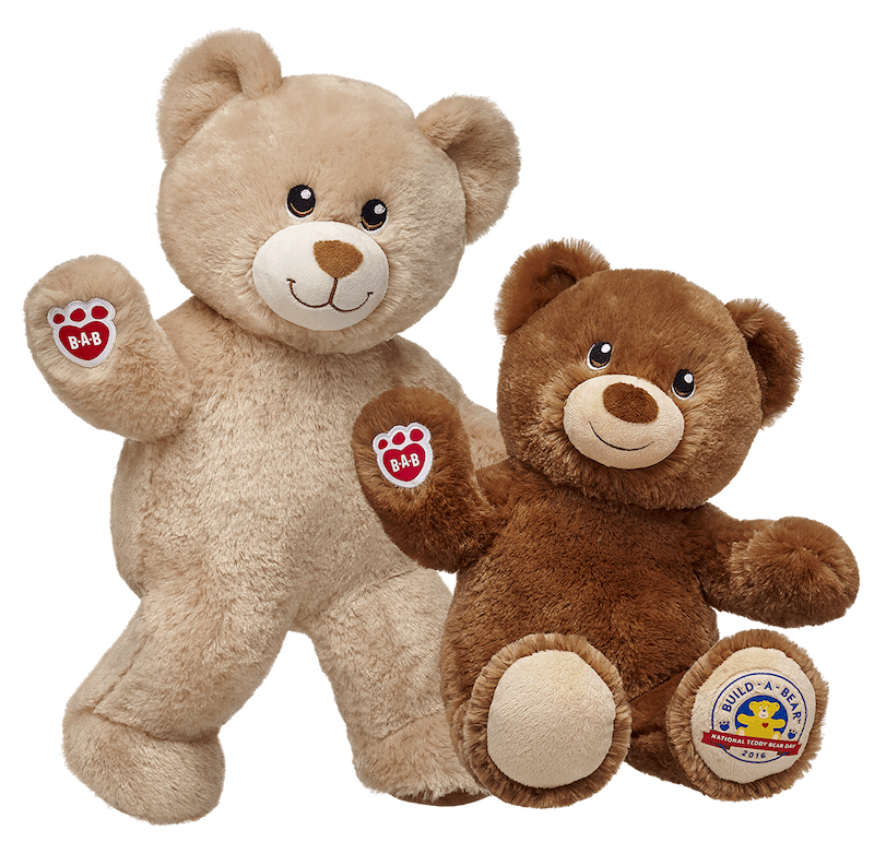 Build a bear png. Celebrate national teddy day