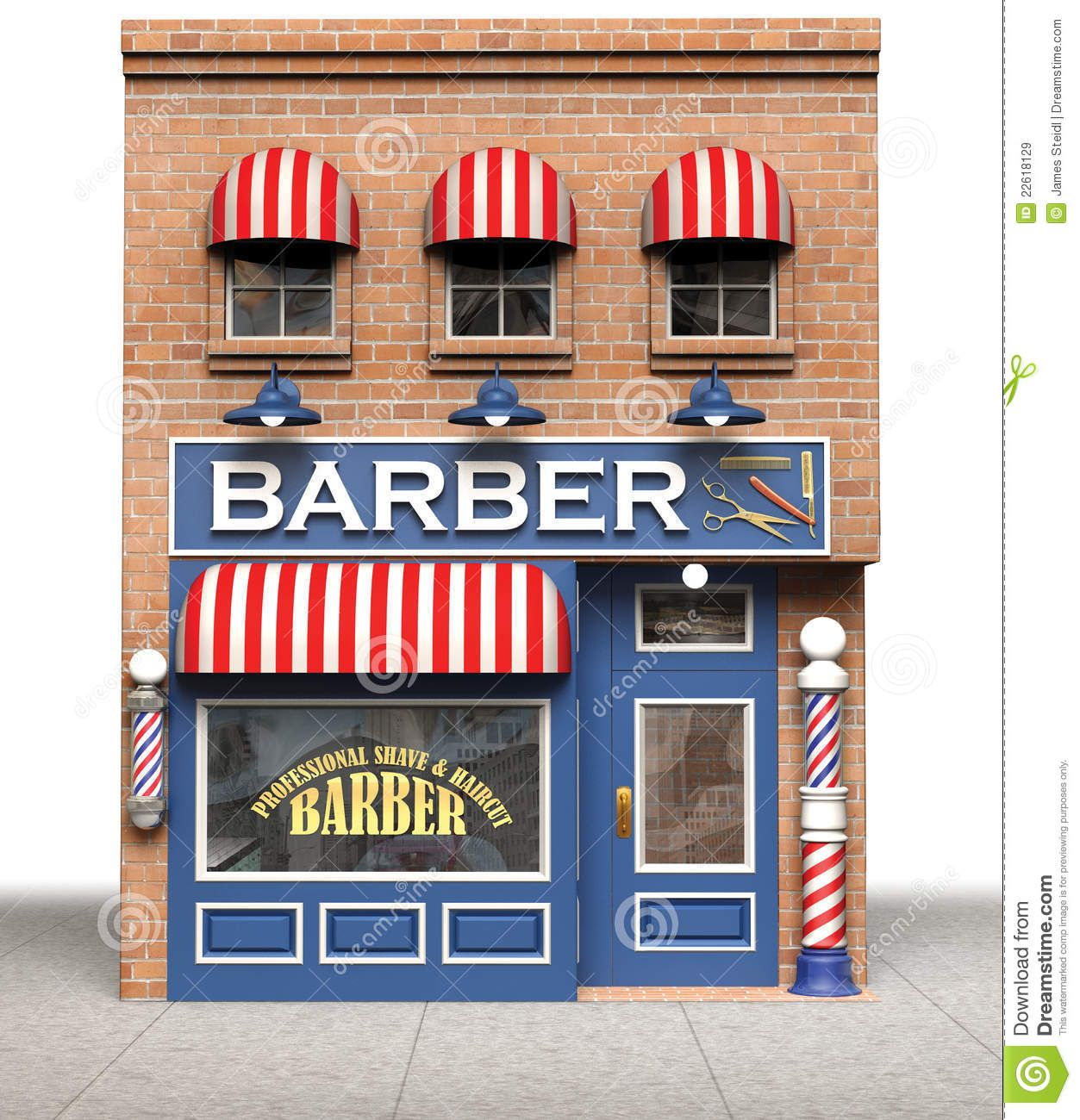 Building clipart barber shop. Google search stage set