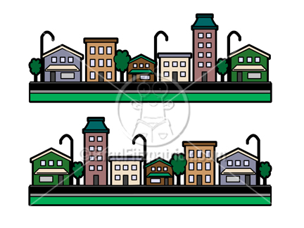 Building clipart cartoon. Buildings picture royalty free