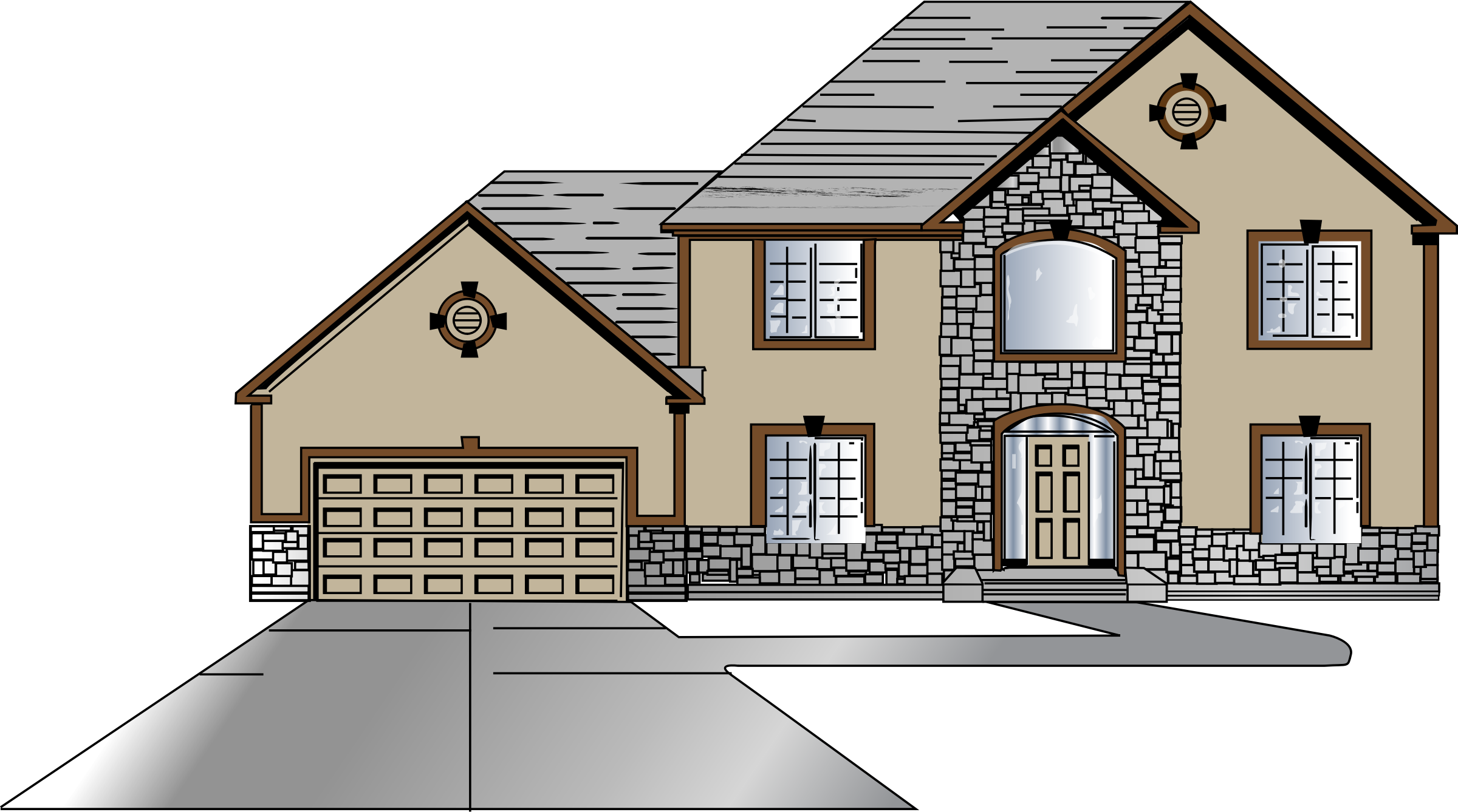 Building design png. House front icons free