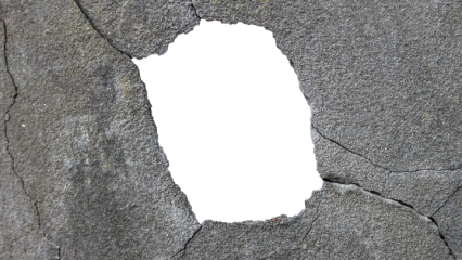 Building hole png. Damage graphicscrate cracked
