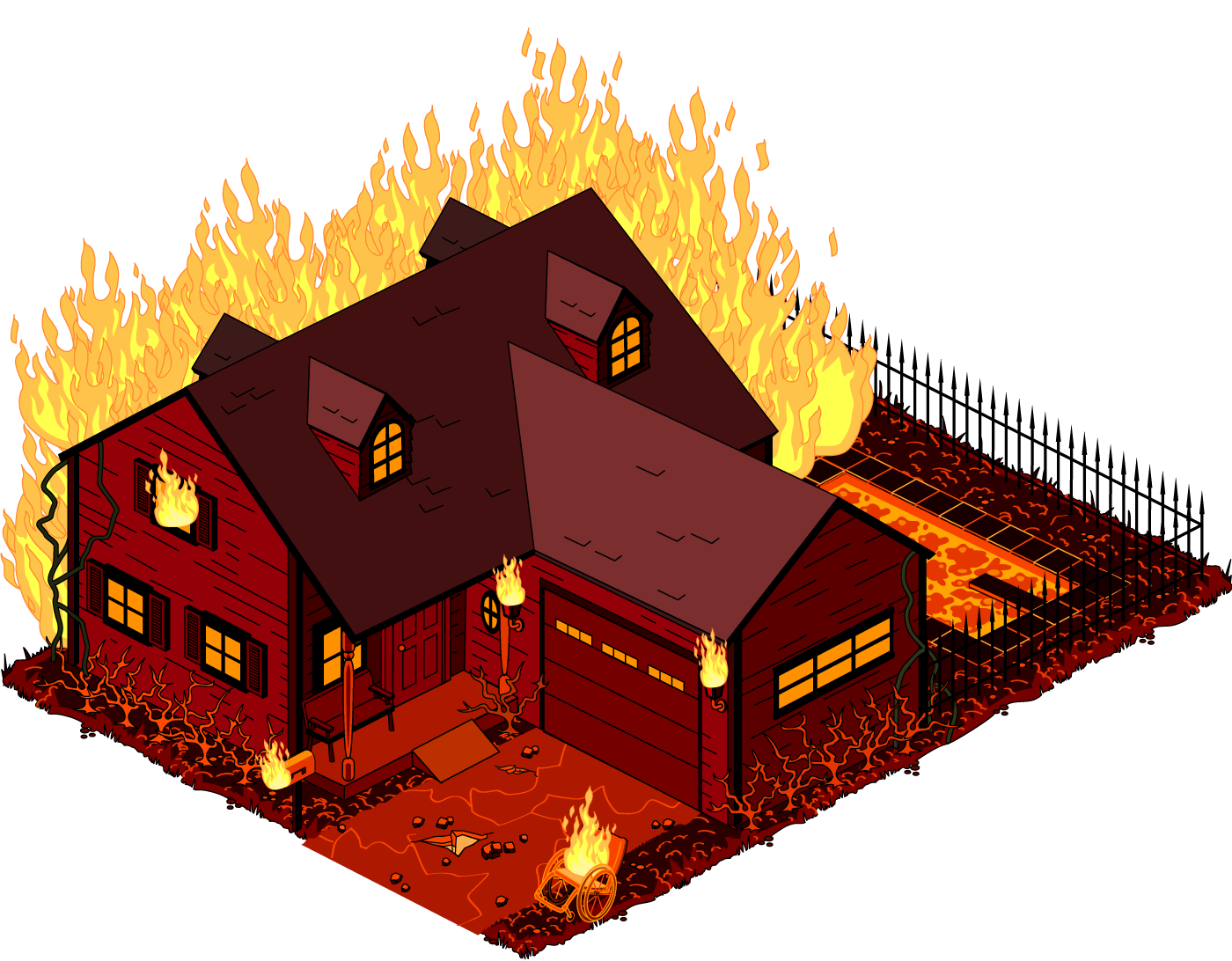 Building on fire png. Image swansonhouse brimstone family