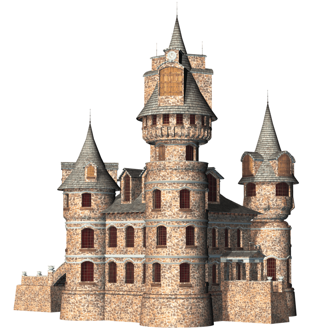 Castle png. Buildings transparent images stickpng