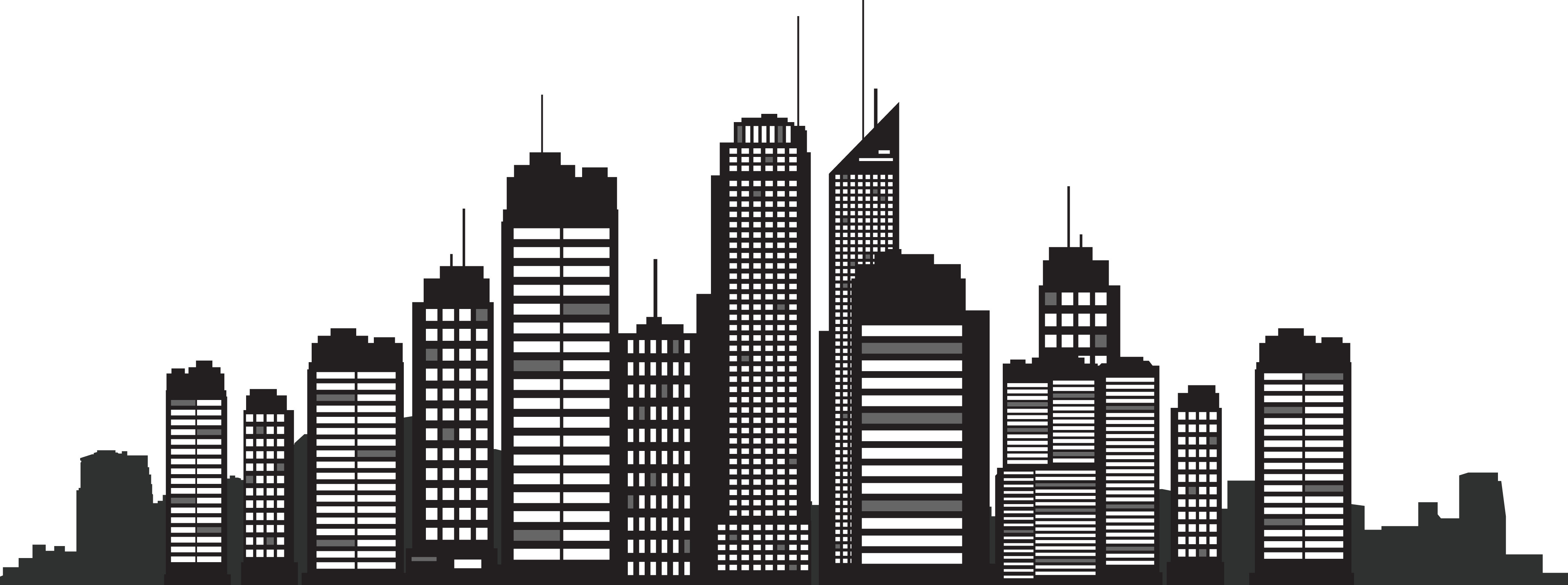 Building silhouette png. New york city skyline