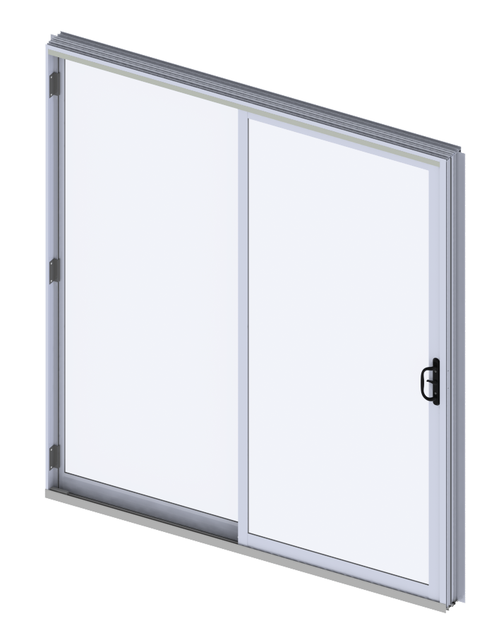 Transparent doors commercial. Recommended windows for mid