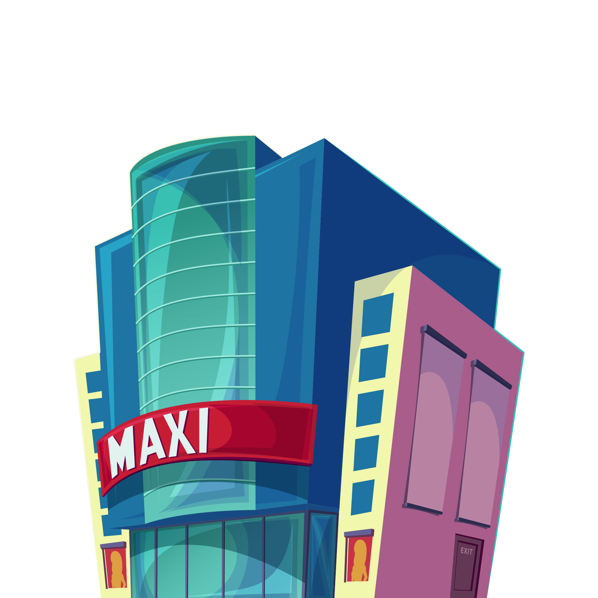Buildings clipart cinema. Building image png free