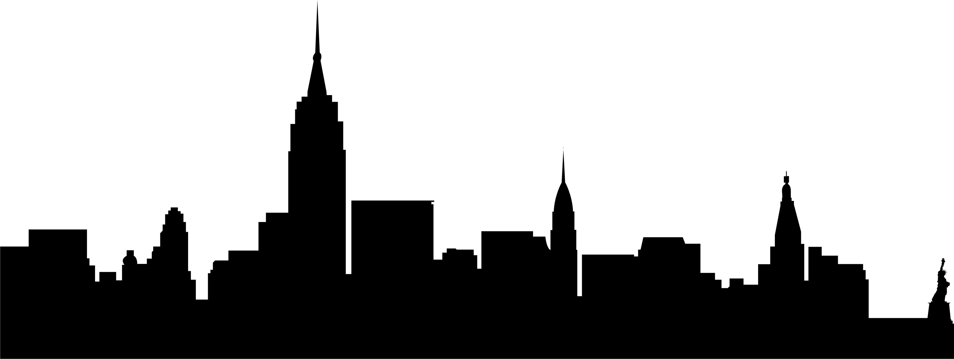 Buildings clipart city building. Silhouette at getdrawings com