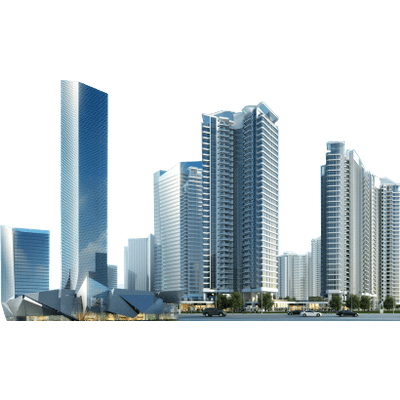 Vector buildings transparent. Office building clipart png