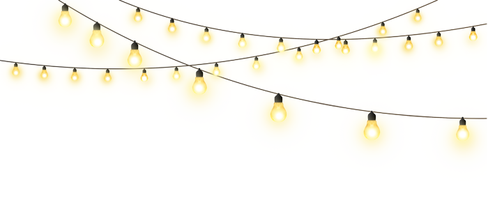 String png. Hanging light bulb great