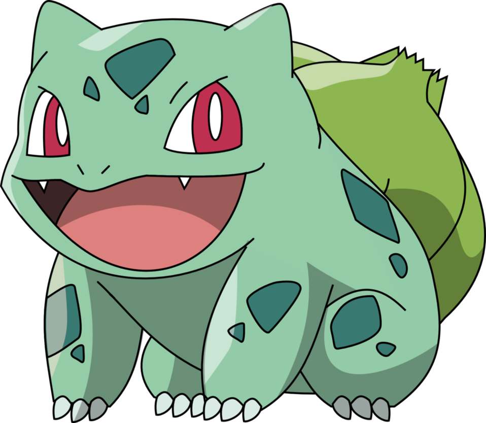 bulbasaur vector indigo league