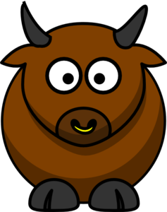 Bull clipart public domain. Clip art at clker