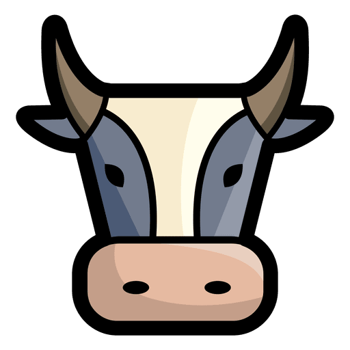 Bull head png. Angry transparent svg vector