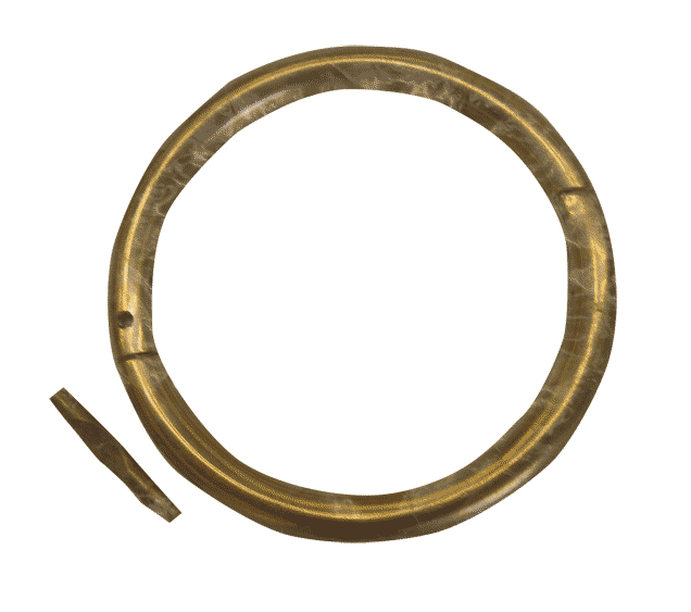 Png nose ring. Livestock animal restraint clearance