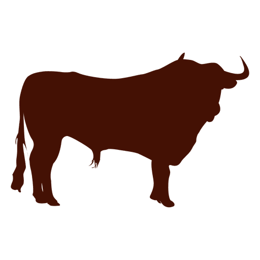 Bull transparent png svg. Ox vector silhouette image transparent download