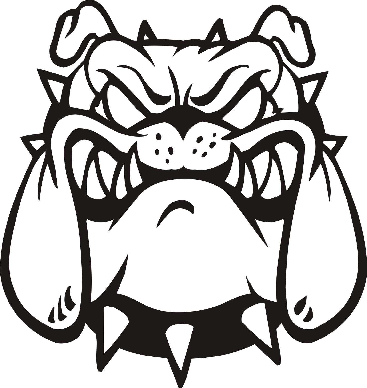 Free pictures clipartix art. Bulldog clipart clipart royalty free download