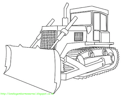 Bulldozer Coloring Page Transparent Png Clipart Free Download Ya