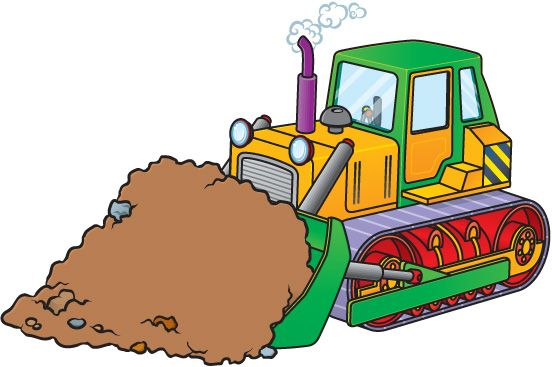 Bulldozer clipart tlb. Silhouette vector at getdrawings