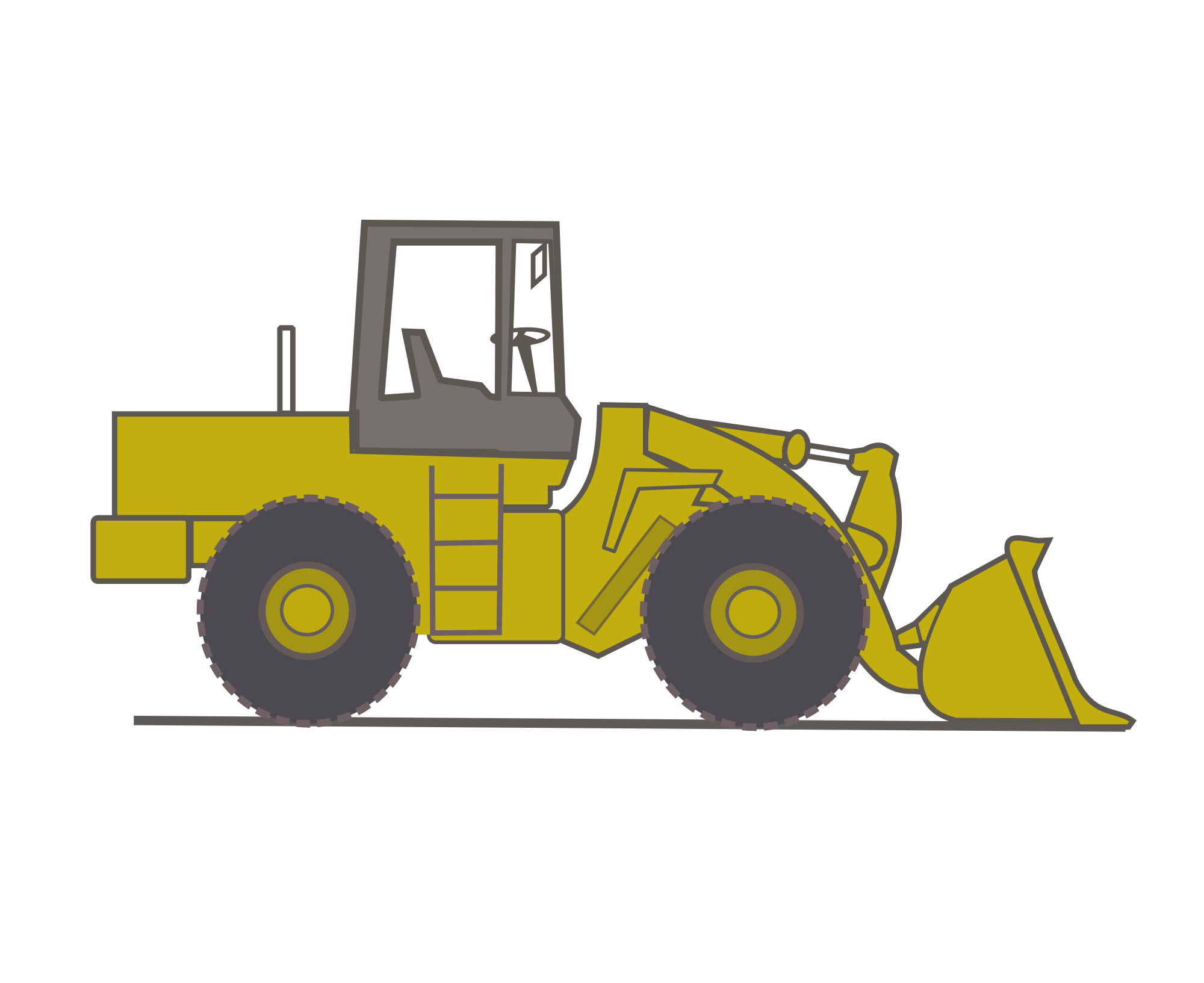 bulldozer svg file