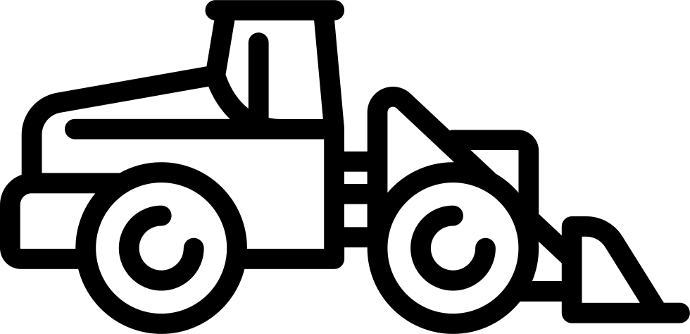 Bulldozer svg simple. Png icon free download