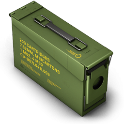Bullet clipart ammo box. Green icon png image