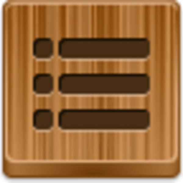 Bullet clipart wood png. List bullets icon free