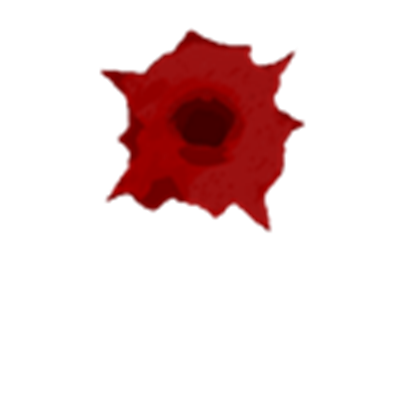 Bullet hole blood png. Bloody roblox