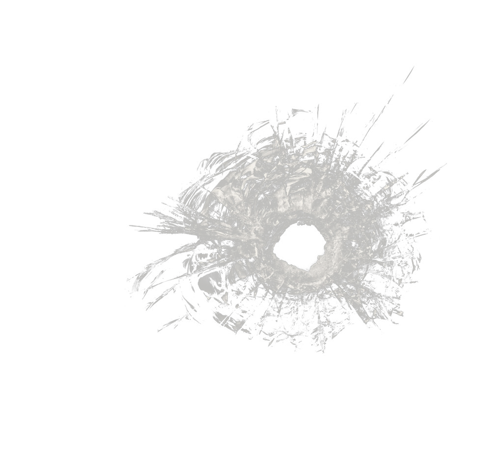 Bullet hole glass png. Black and white pattern