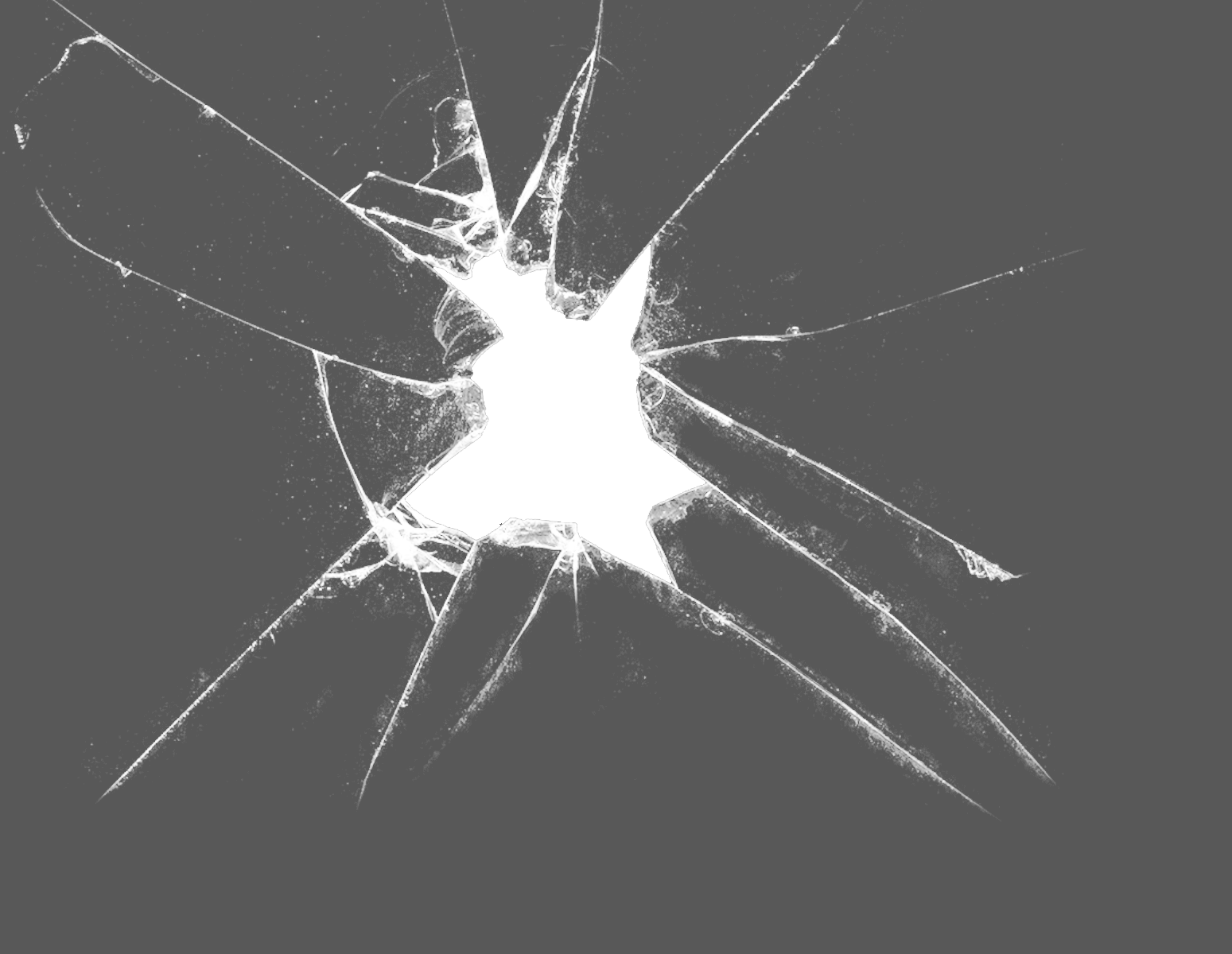 Cracked glass texture png. Broken transparent pictures free
