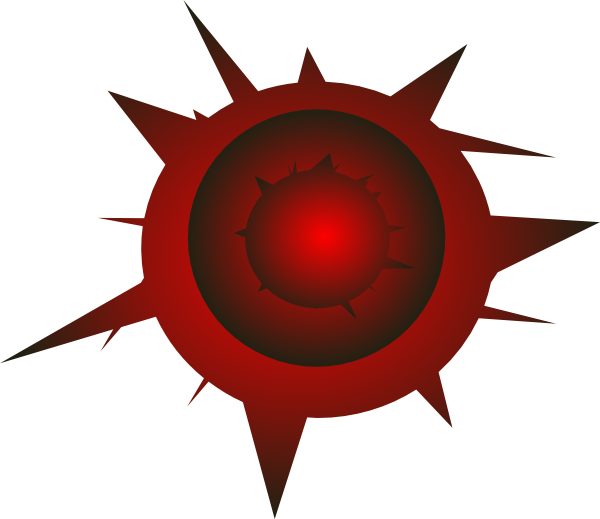 Bullet hole on png. Clip art at clker