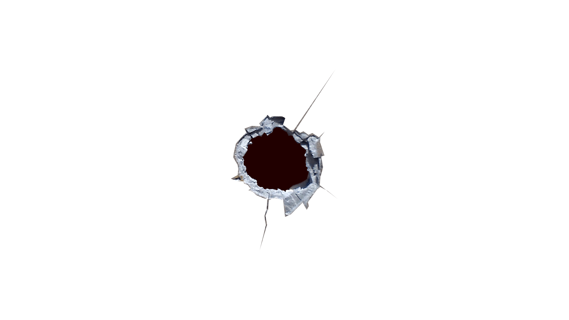 Vector shot bullet holes. Transparent png images stickpng