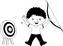 Bullseye clipart hit the target. Search results for clip