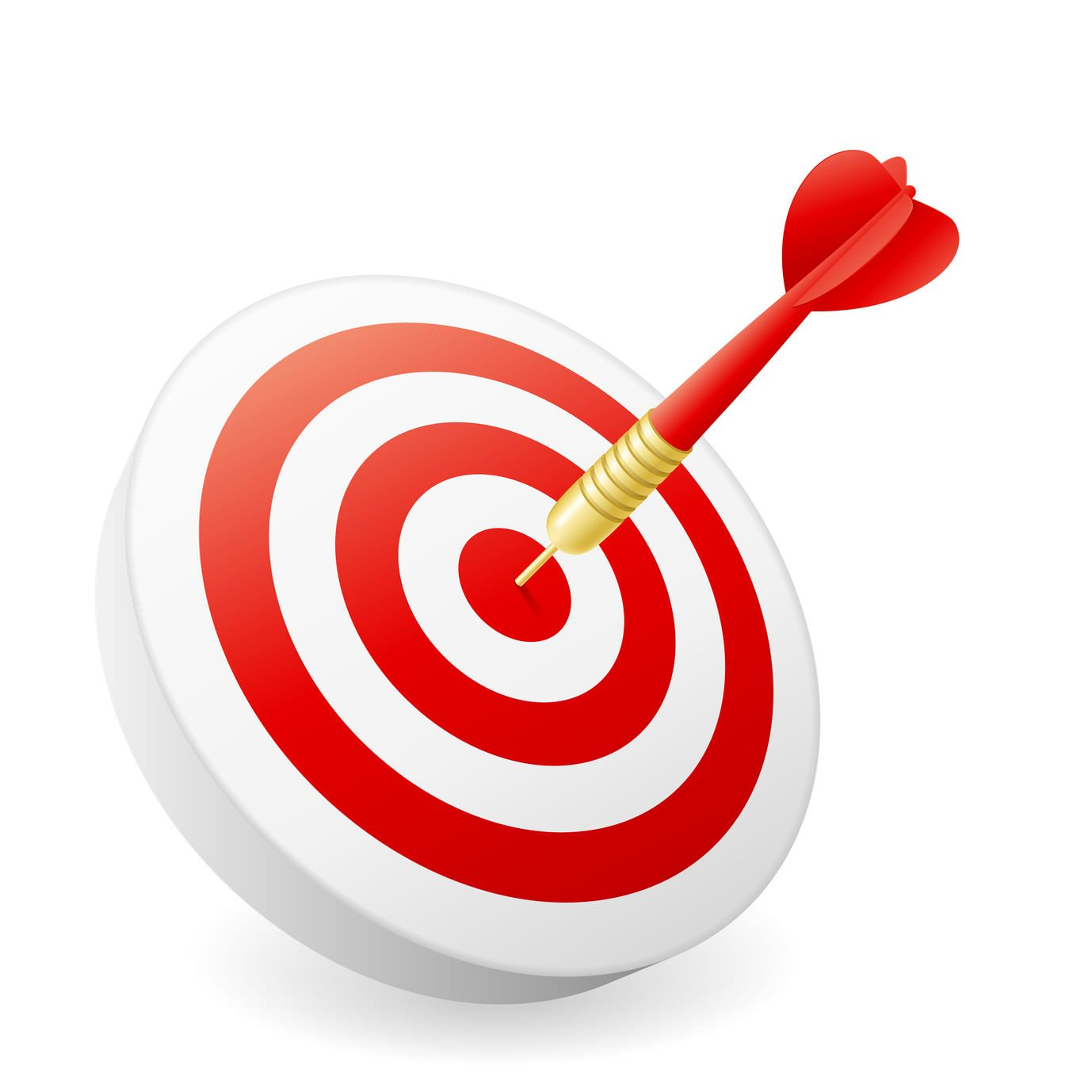 Bullseye clipart hit the target. What s in a