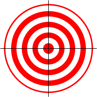 Bullseye clipart printable. Targets pvz pinterest shooting