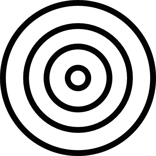 Bullseye png. White free weapons icons
