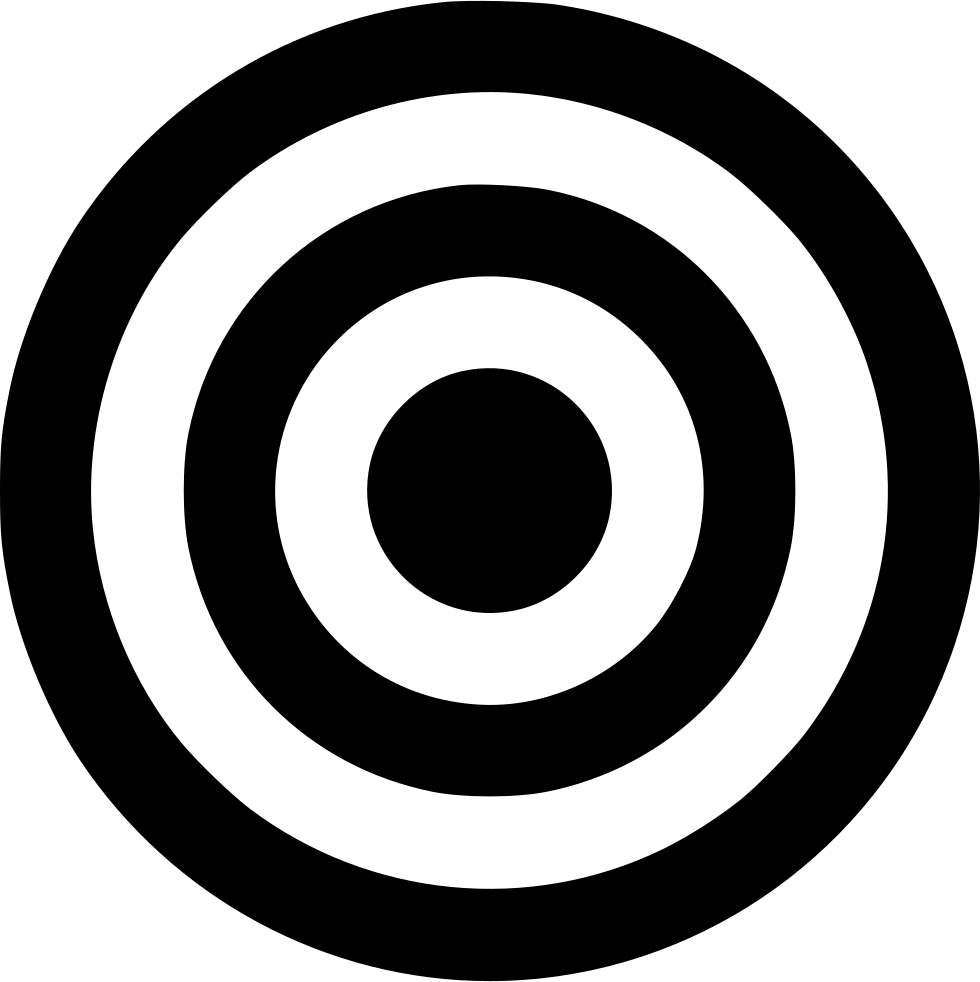 Bullseye svg printable. Png icon free download