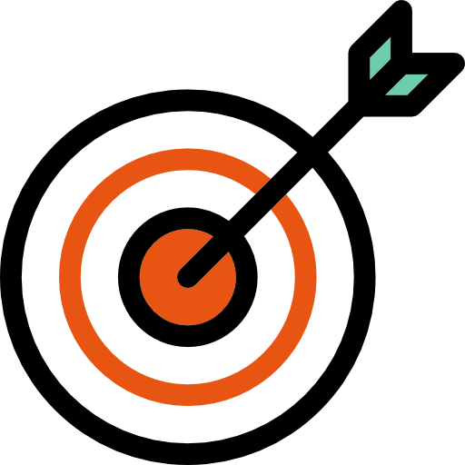 Bullseye transparent png. Icon svg