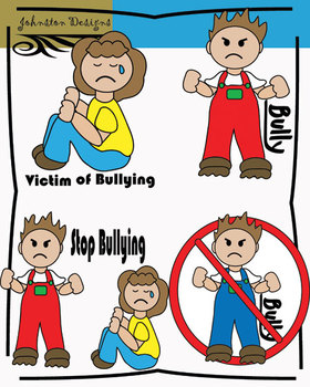 Bullying clipart