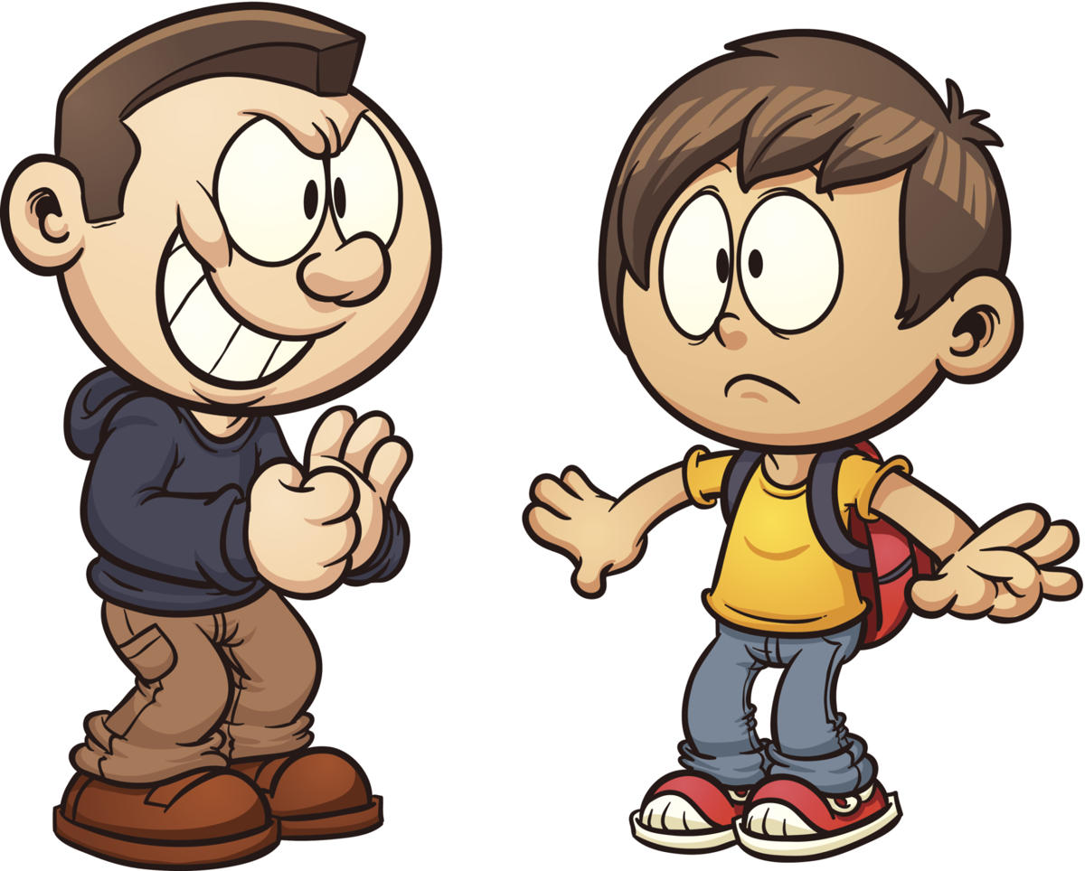 Bully clipart bully child. Effects of bullying