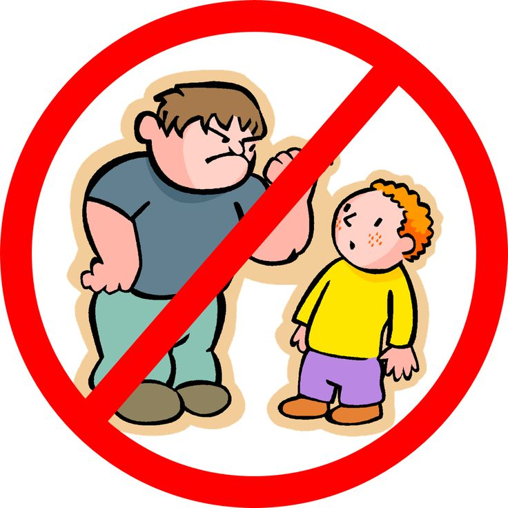 bully clipart physical bullying