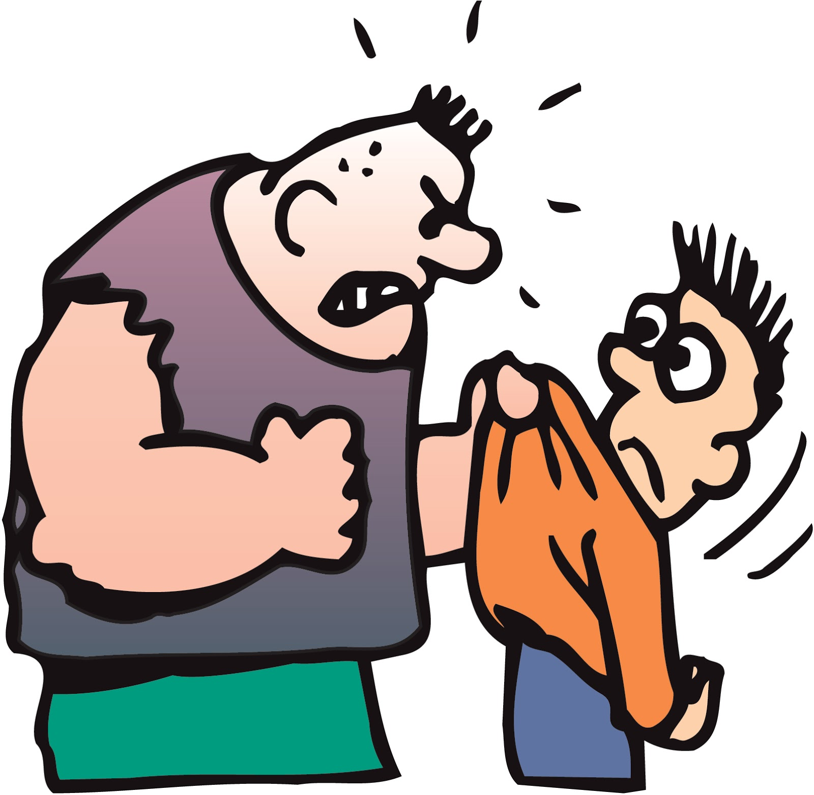 Bully clipart prejudicial. Bullying source httpclipartscocartoonpicturesofbullies