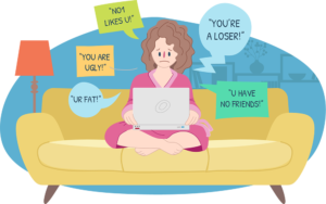 Bully clipart social bullying. Cyber a new problem