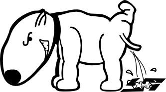 Bully drawing black and white. Clipartist net clip art