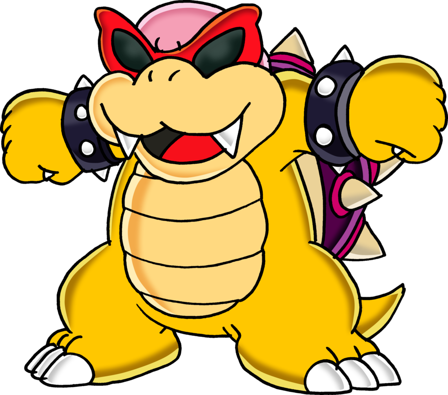Bully drawing koopa. Roy v by tails