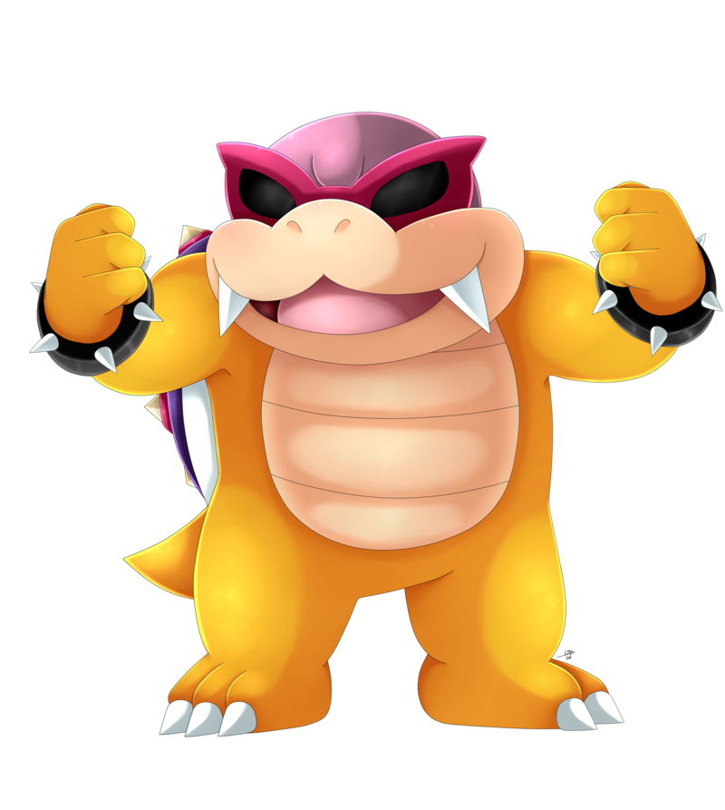 Bully drawing koopa. Roy by shinyhunterf on