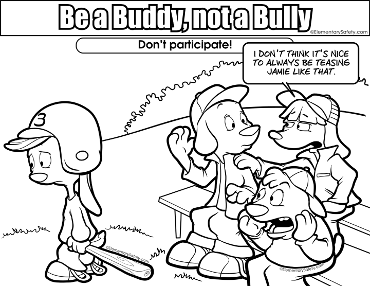 bully drawing peer pressure