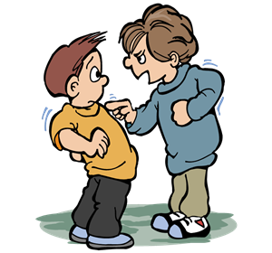 Bully . Bullying clipart bad friend graphic freeuse stock